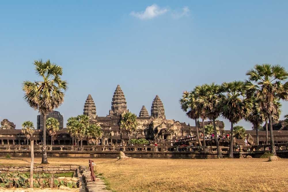Angkor Wat sunrise photo spot
