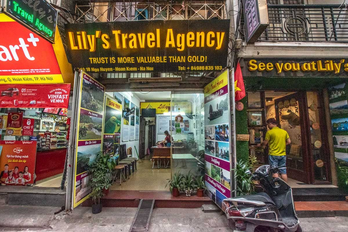 Hanoi travel agency