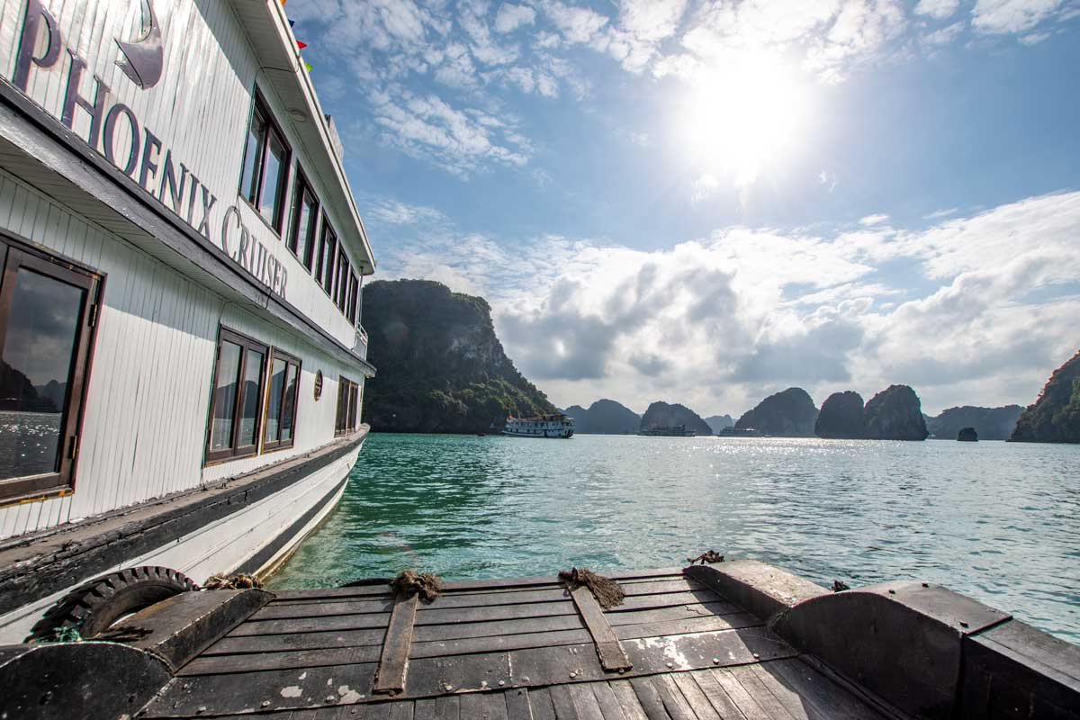 My Halong Bay cruise experience