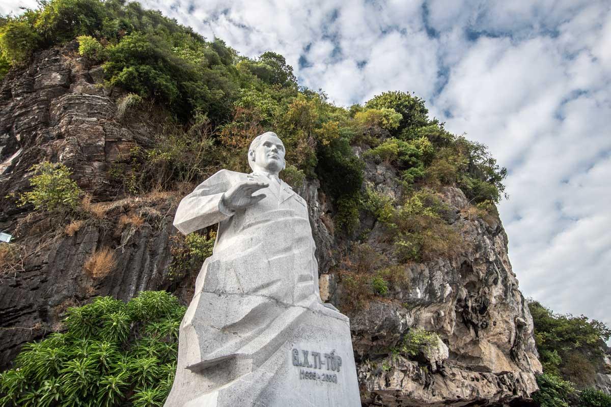 Titop island monument