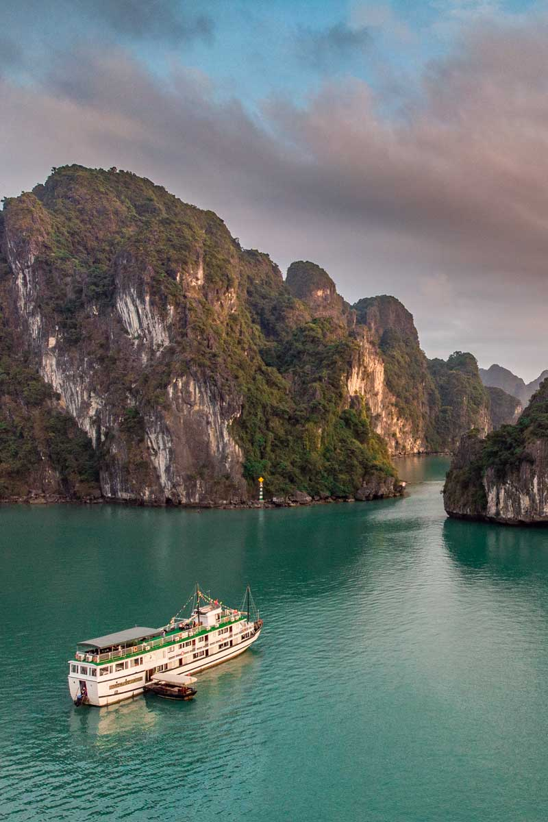 Halong Bay cruise - a bucketlist adventure