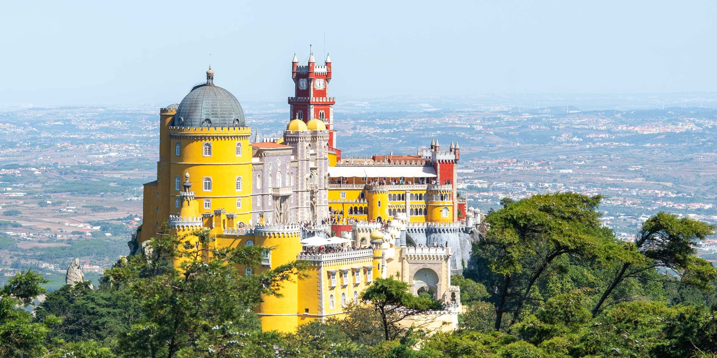 Lisbon to Sintra itinerary