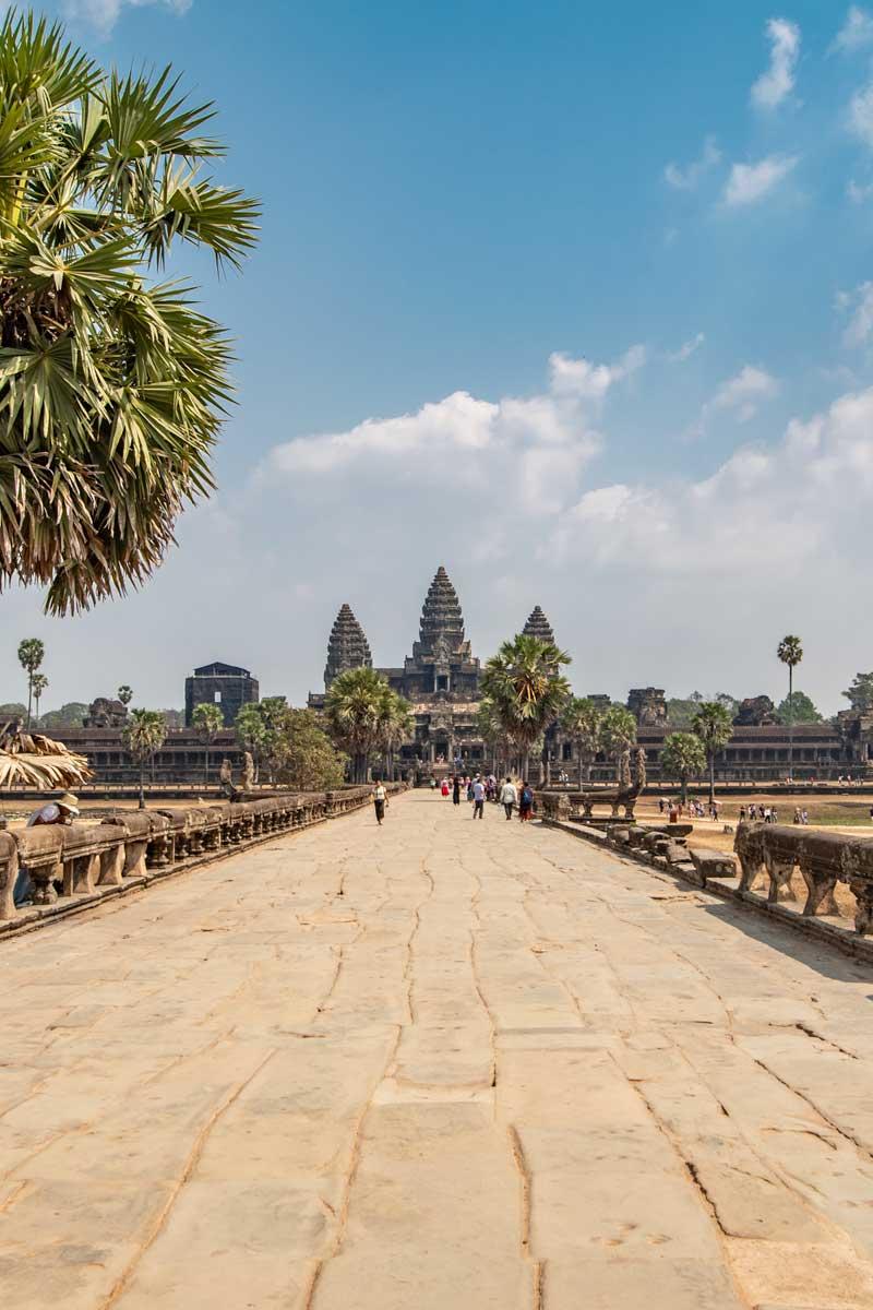 Angkor Wat temple - Siem Reap