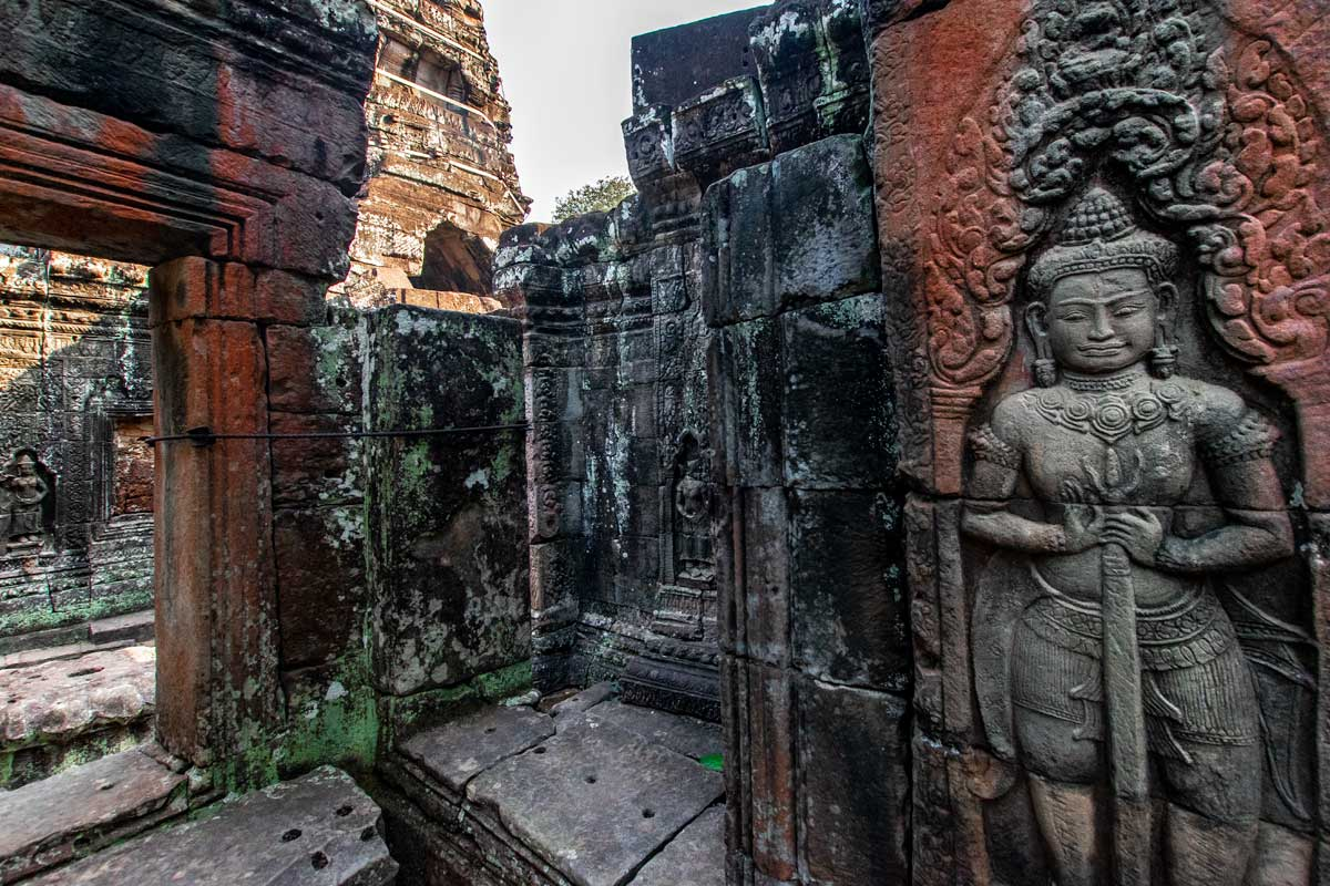 Siem Reap temples - Banteay Kdei