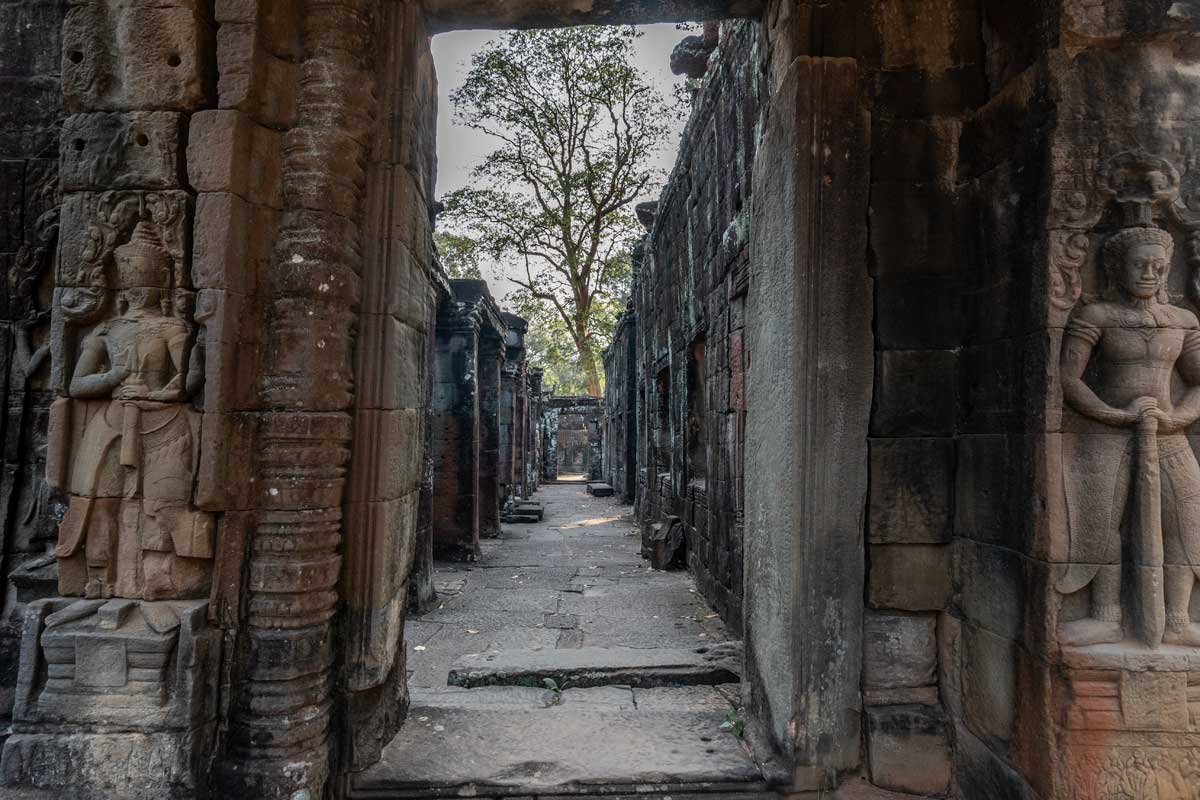 the beauty of the Banteay Kdei temple - Siem Reap