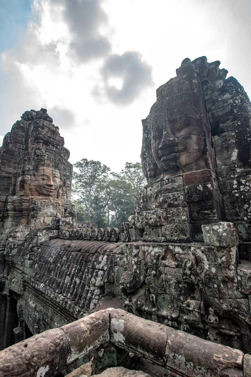 Siem Reap temples -Bayon