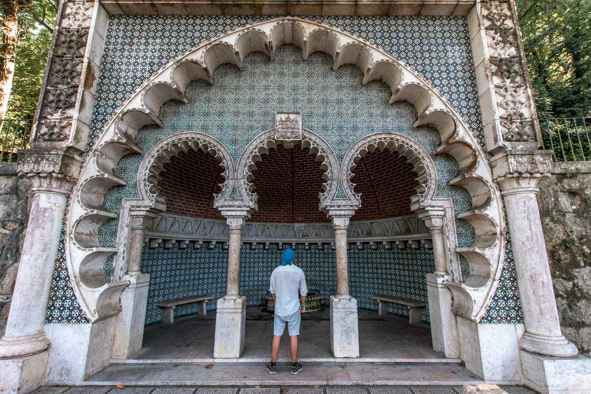 Sintra itinerary - Moorish Fountain