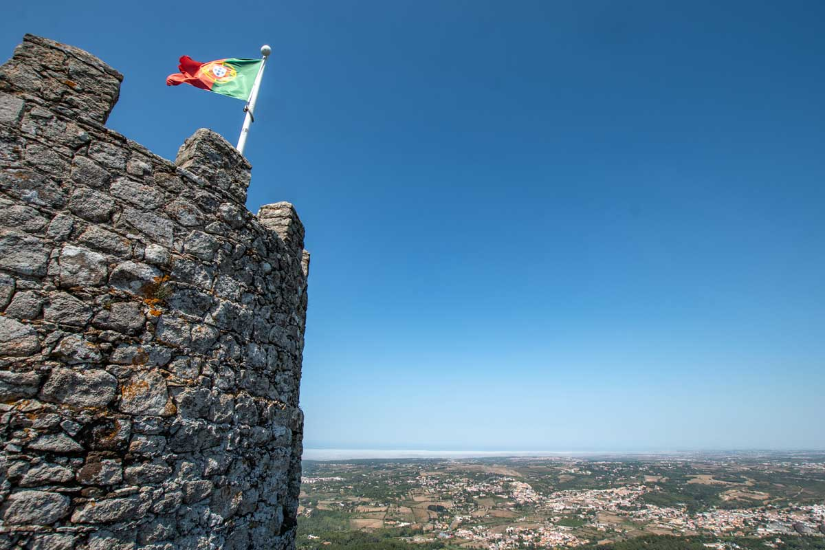 Lisbon to Sintra day-trip - The National Flag