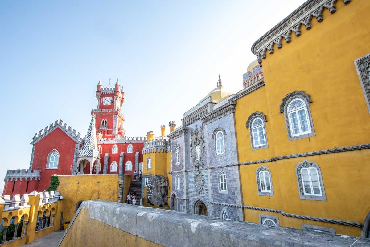 Lisbon to Sintra day-trip - explore Pena