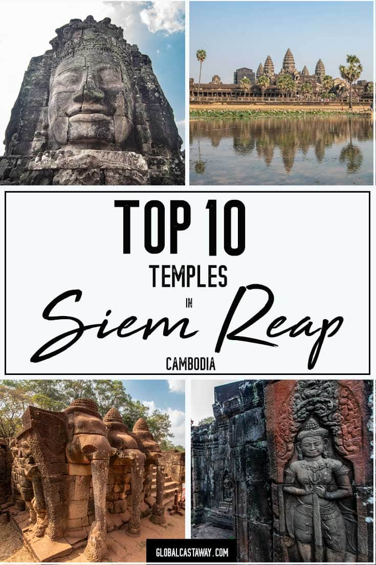 See the very best SIem Reap Temples in Angkor Cambodia | Siem Reap Cambodia | Angkor Wat | Bayon | Ta Prohm | Travel Cambodia | Angkor Wat Photography | Siem Reap Temples