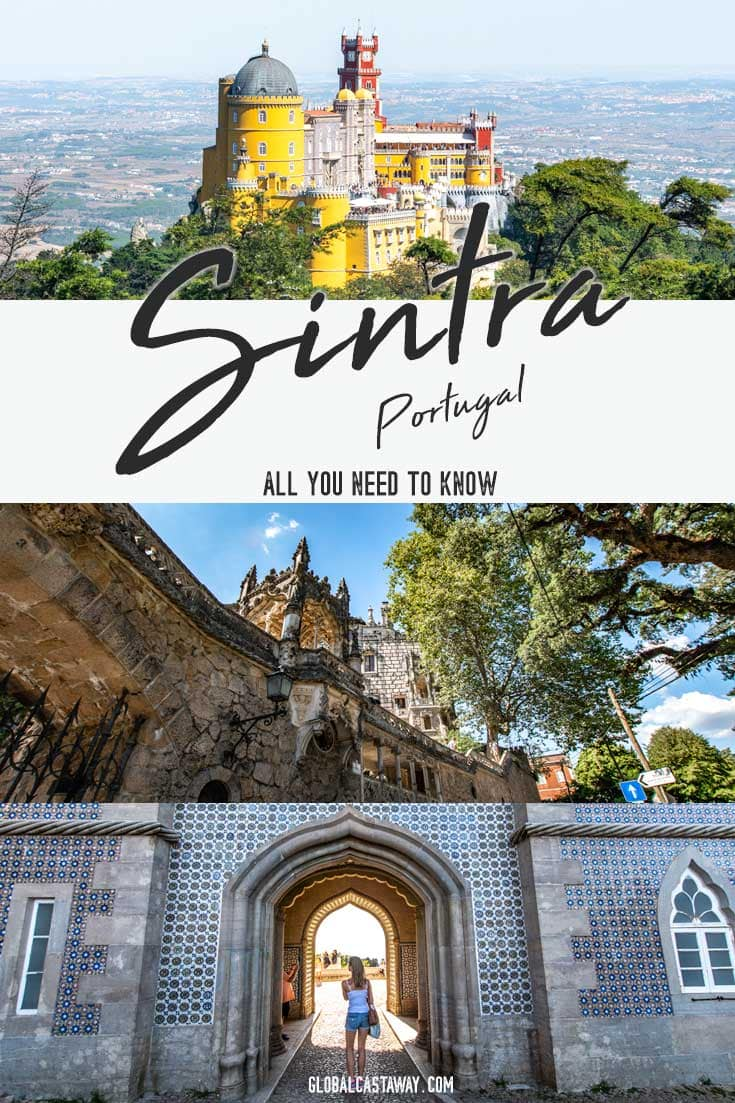 How to plan a Sintra day trip on your own? What to see in Sintra Portugal? A perfect Sintra, Portugal day trip itinerary! Sintra photography | Sintra guide | Sintra Portugal | #sintra #portugal #travelportugal