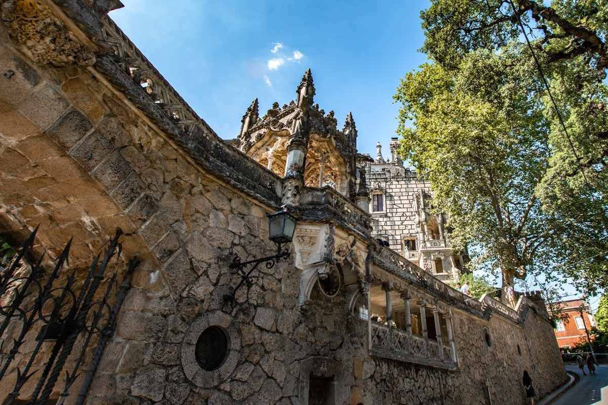Sintra itinerary - outside of the Quinta