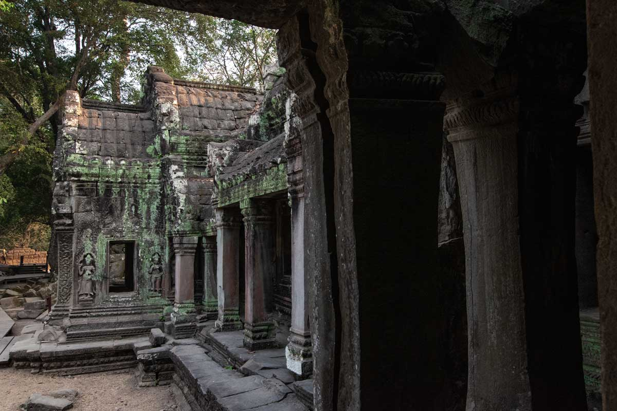 Ta Prohm - the Tomb Rider Temple