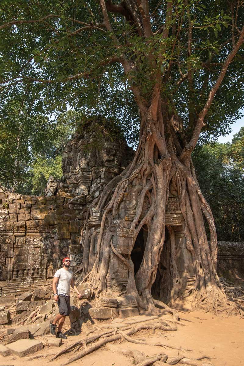 Ta Som temple - Siem Reap
