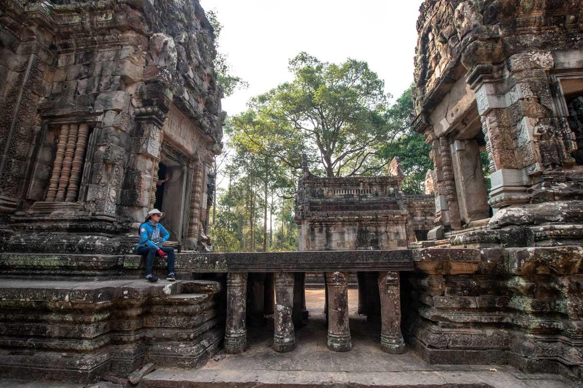 Siem Reap temples -Chau Say Tevoda