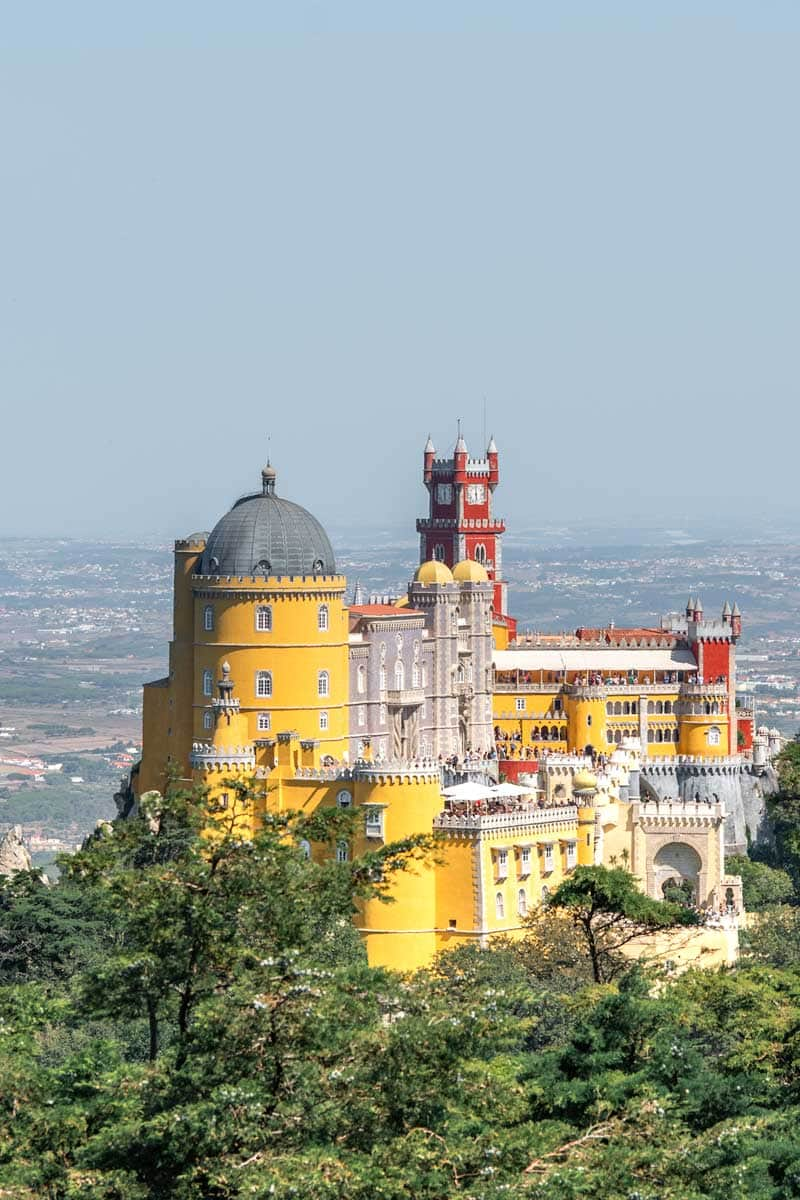 sintra guide - pena palace