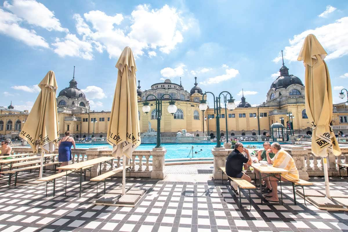 Famous Budapest thermal baths