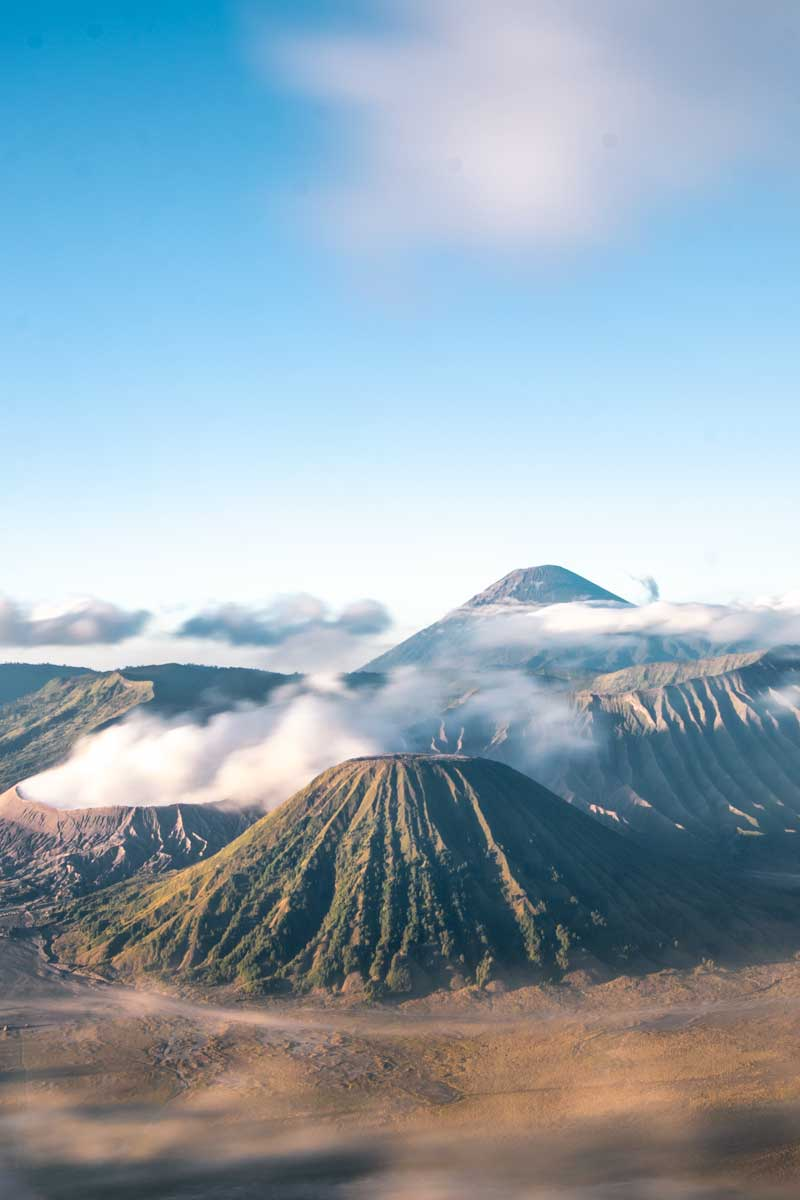 picturesque Mt. Bromo