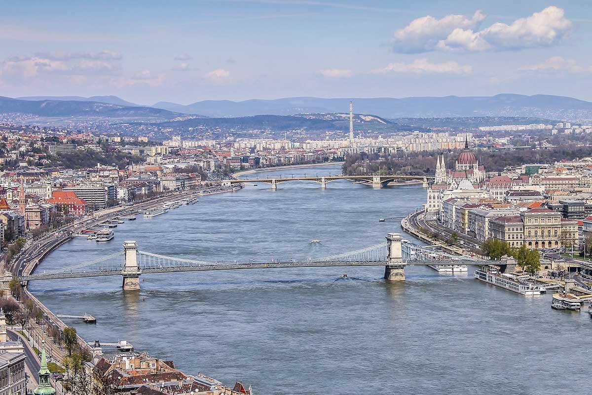 View form Budapest Citadel