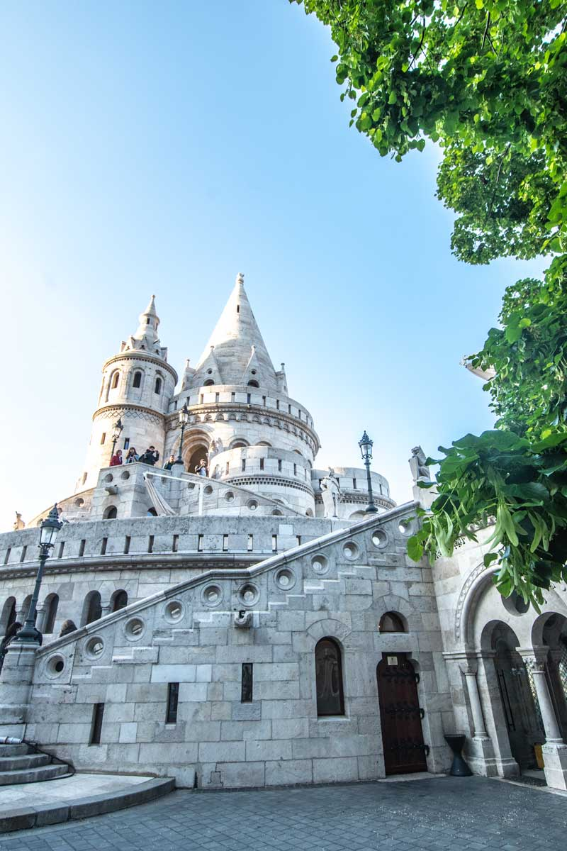 2 day budapest itinerary - fairy fisherman's bastion tower