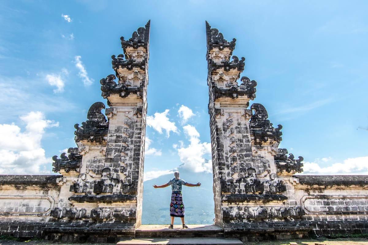 heavens gate at Pura Lempoyang
