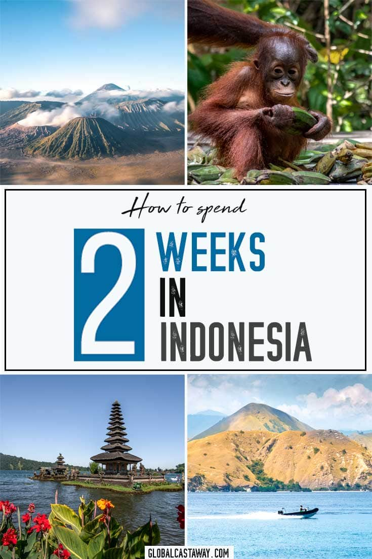 See the ultimate 2 week indonesia itinerary. Explore Bali, Bromo, Borneo and Komodo and see what else is there to travel in Indonesia | Indonesia travel | Indonesia itinerary | 2 weeks in Indonesia | Indonesia travel guide