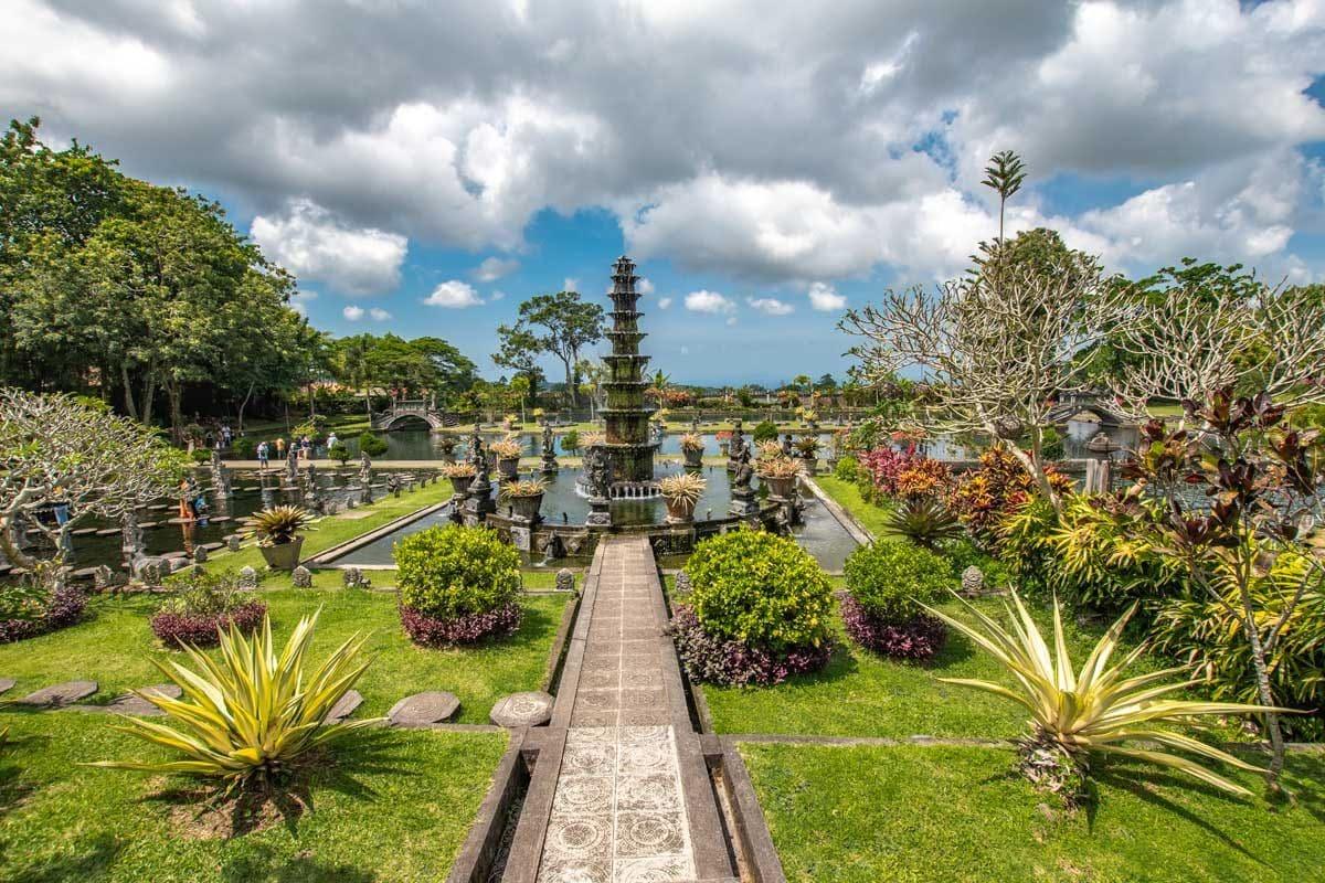 Tirtagangga garden in Bali