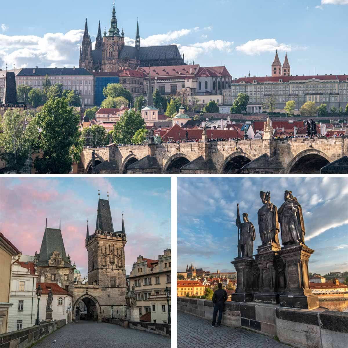 2 days in prague - Charles Bridge
