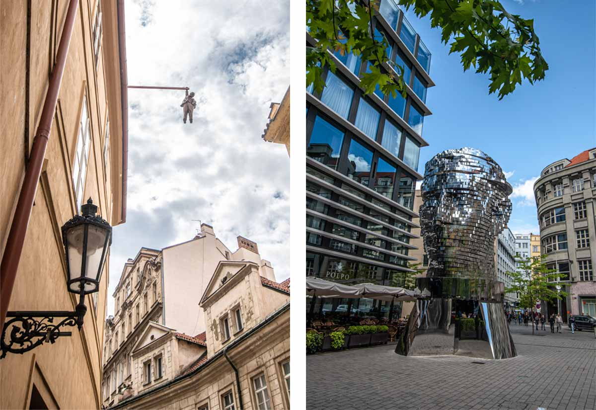 2 day Prague itinerary - Modern art around Prague
