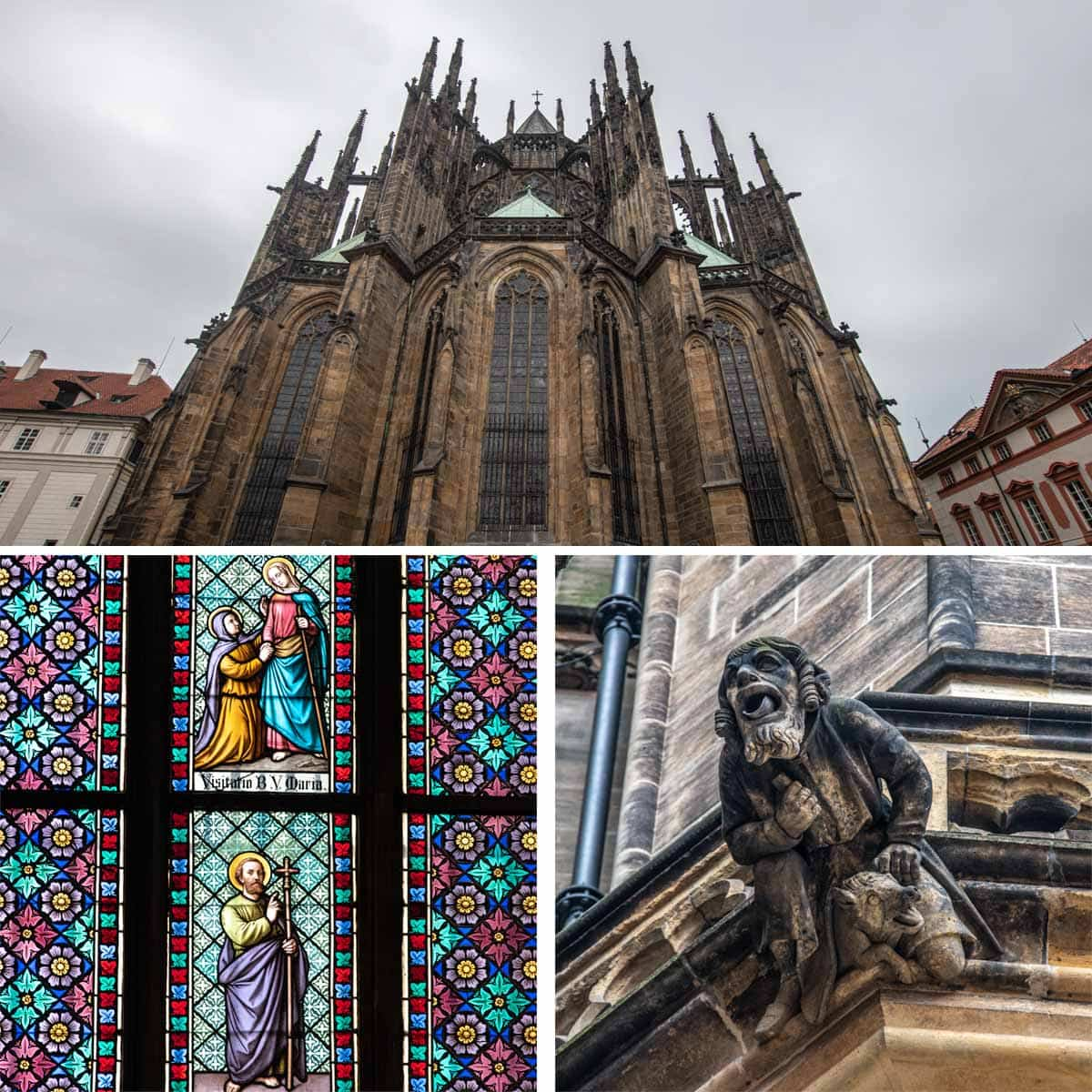 2 days in Prague - St.Vitus Cathedral