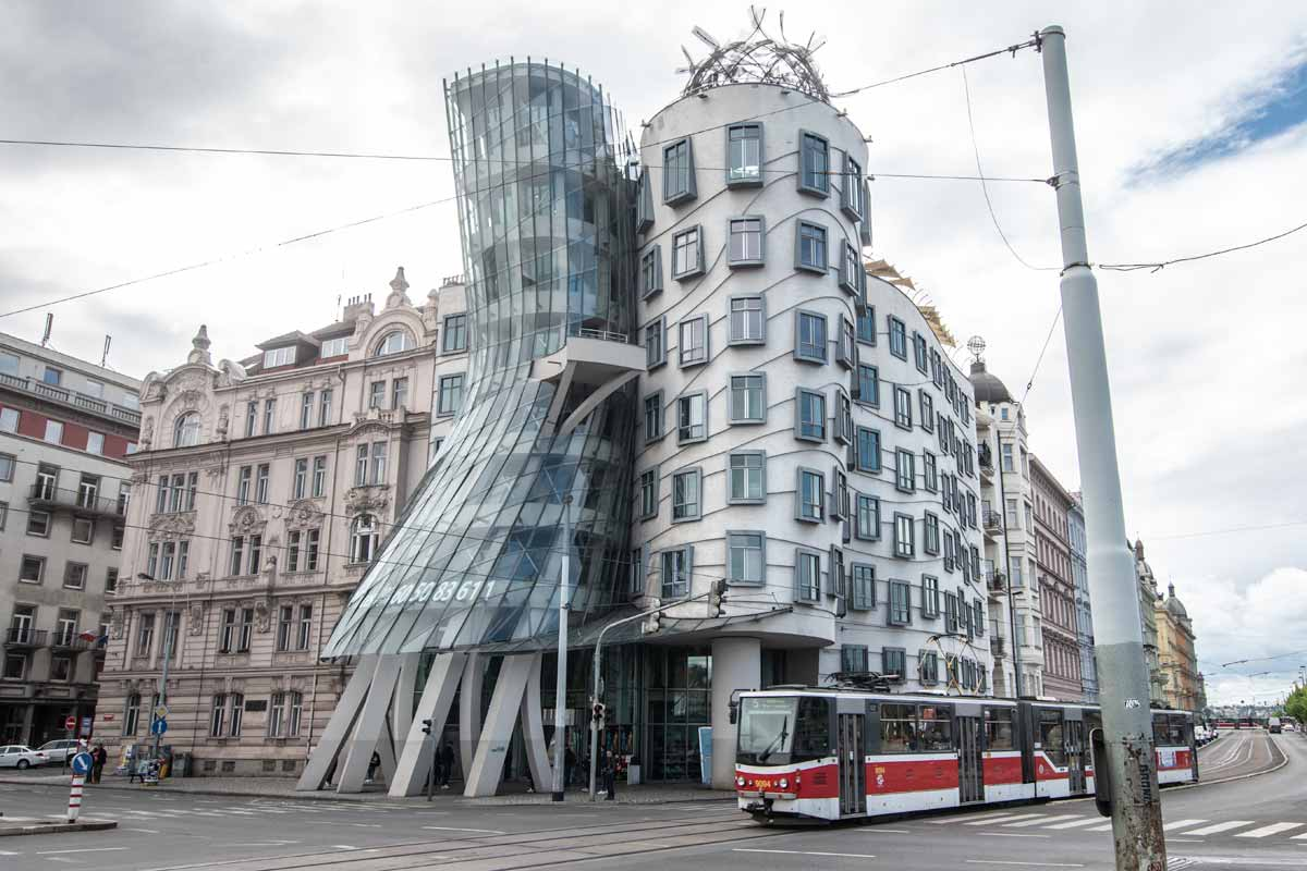 2 day Prague itinerary - The Dancing House