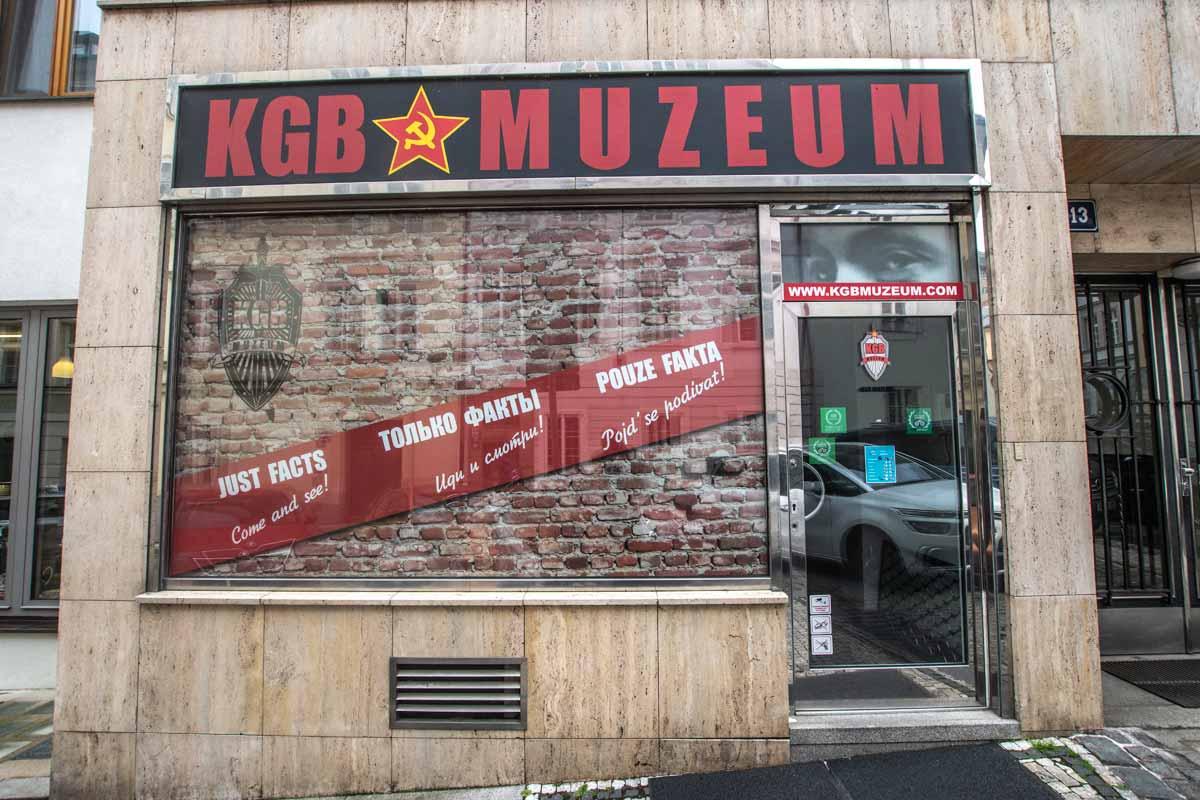 KGB Museum front