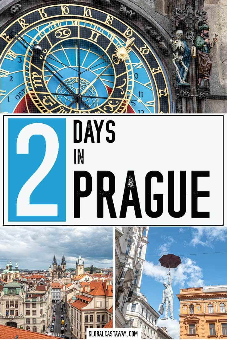 The perfect 2 Days in Prague travel itinerary | Travel Prague | Prague travel itinerary | 2 days in Prague | Prague travel guide | What to see in Prague