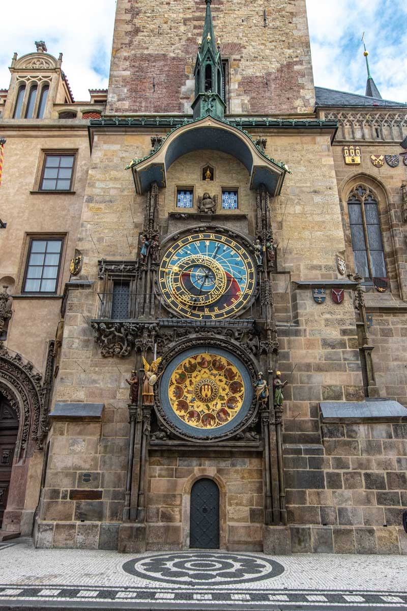 2 day Prague itinerary - the Astronomical Clock
