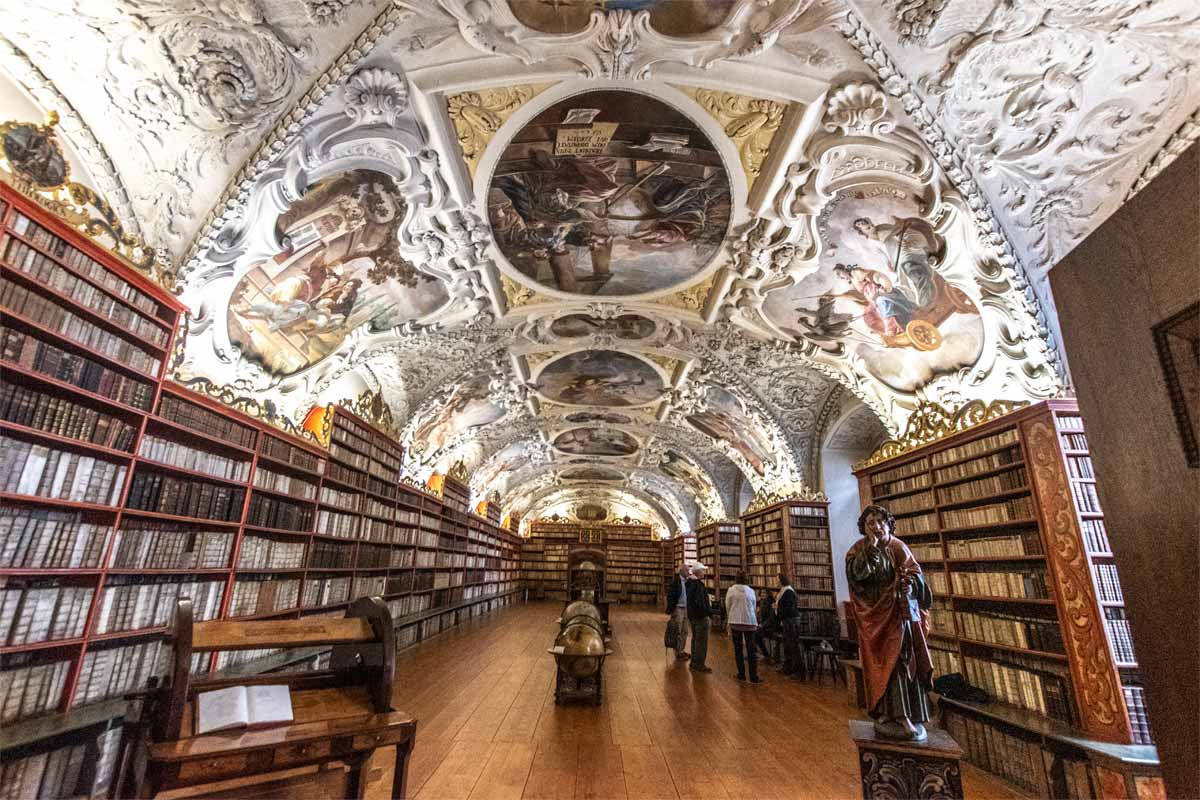 Gorgeous Strahov Library