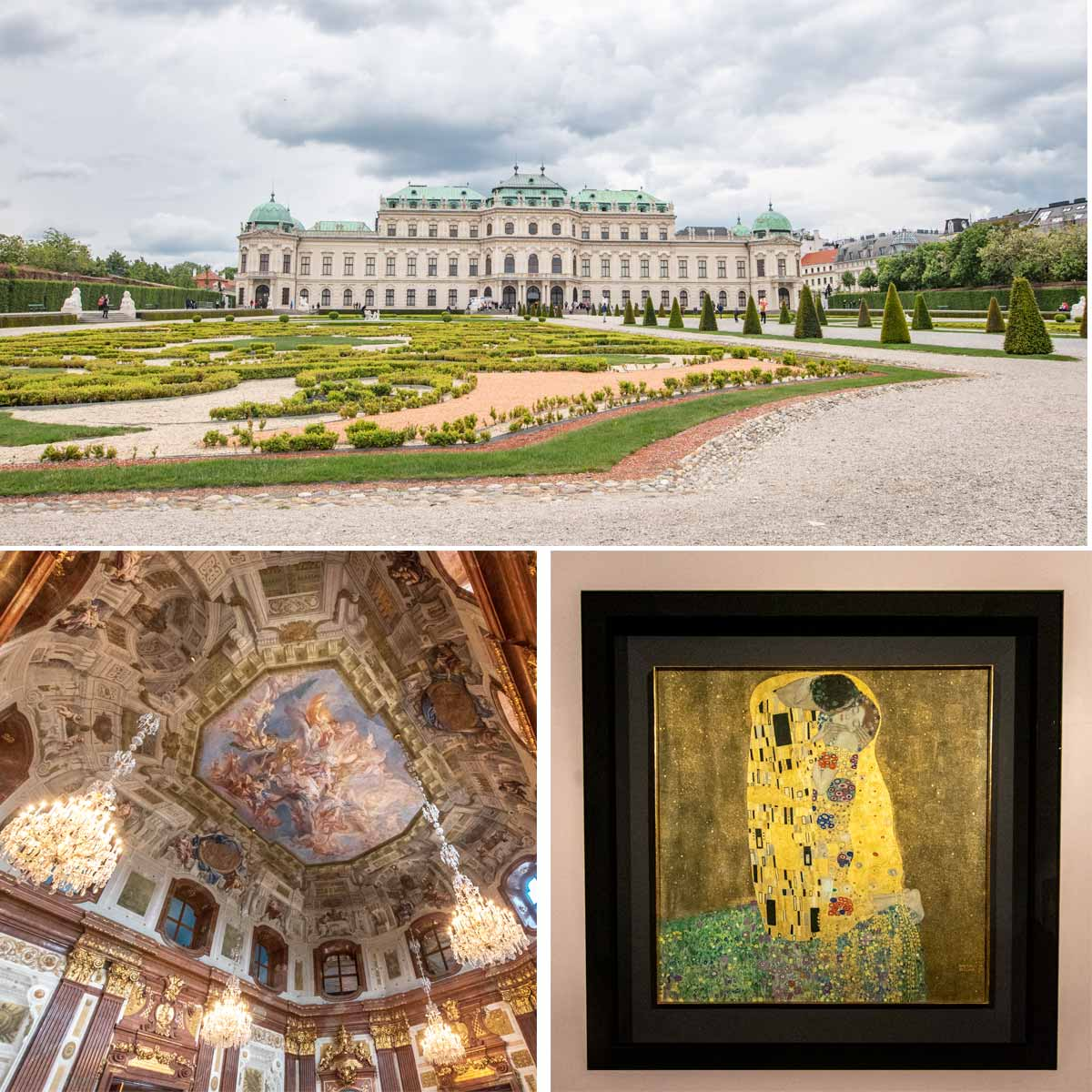 Vienna itinerary - Belvedere highlights