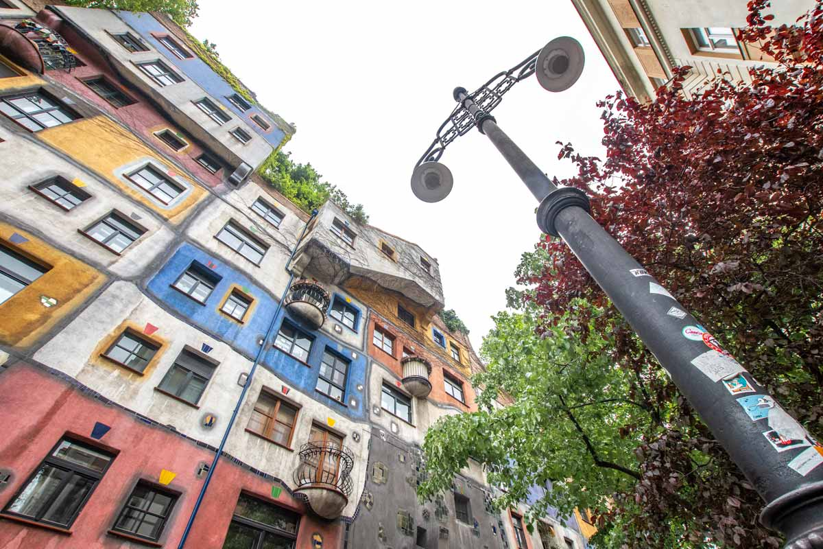 Vienna itinerary - hundertwasserhaus