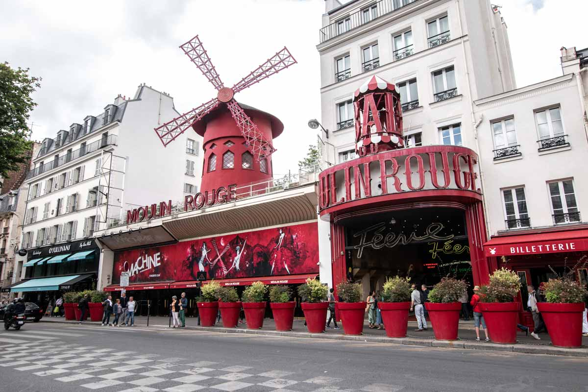 Moulin Rouge from the street