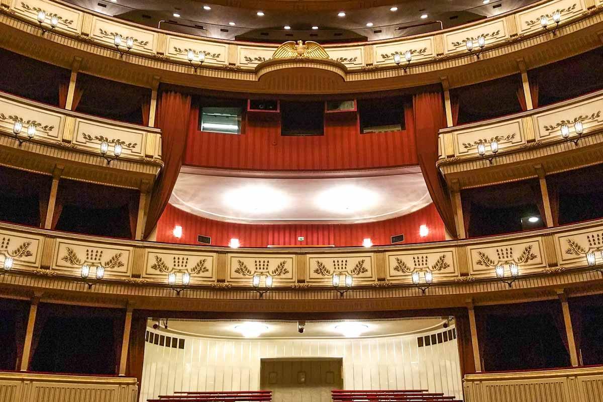 Vienna itinerary - Vienna opera inside