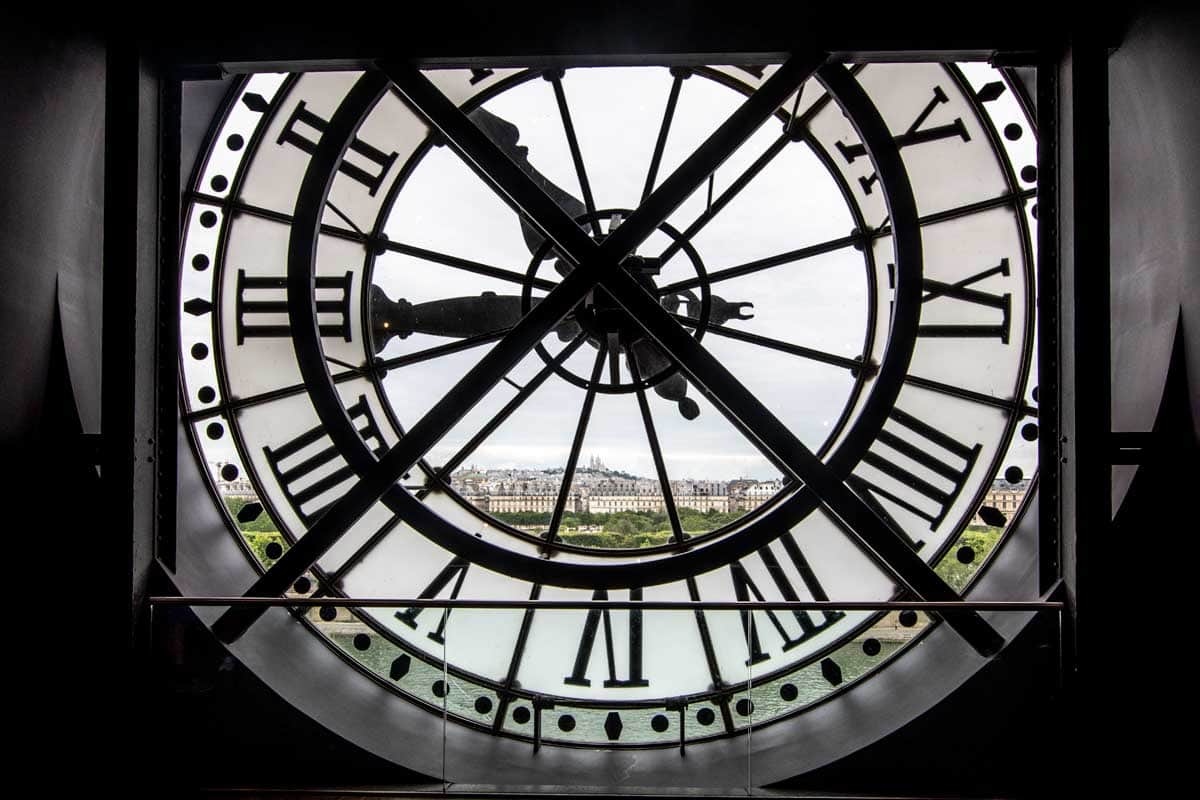 4 day Paris itinerary - Musse D'Orsay clock