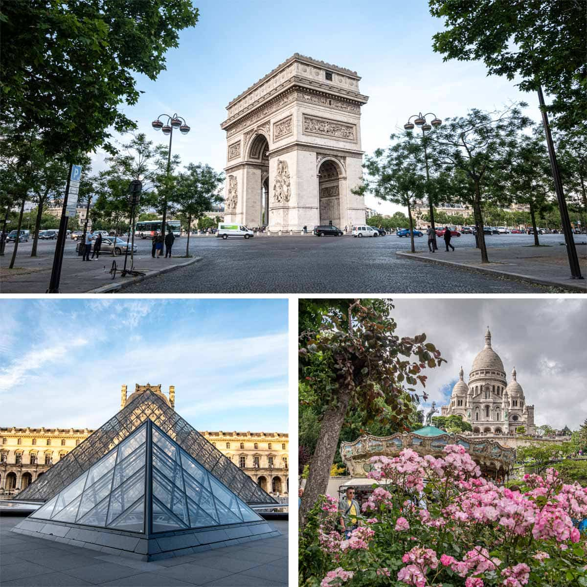 4 day Paris itinerary - Paris Landmarks