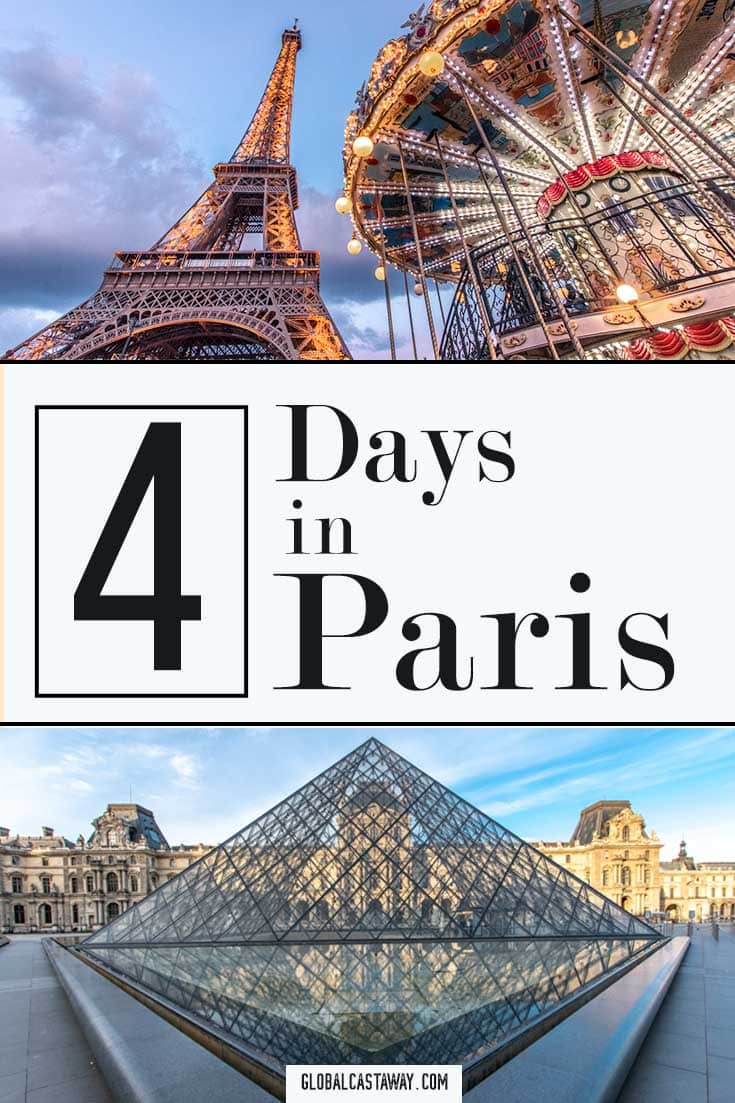 Check out how to see the best of Paris in 4 days | travel Paris | Paris travel guide | Paris itinerary | Paris itinerary map