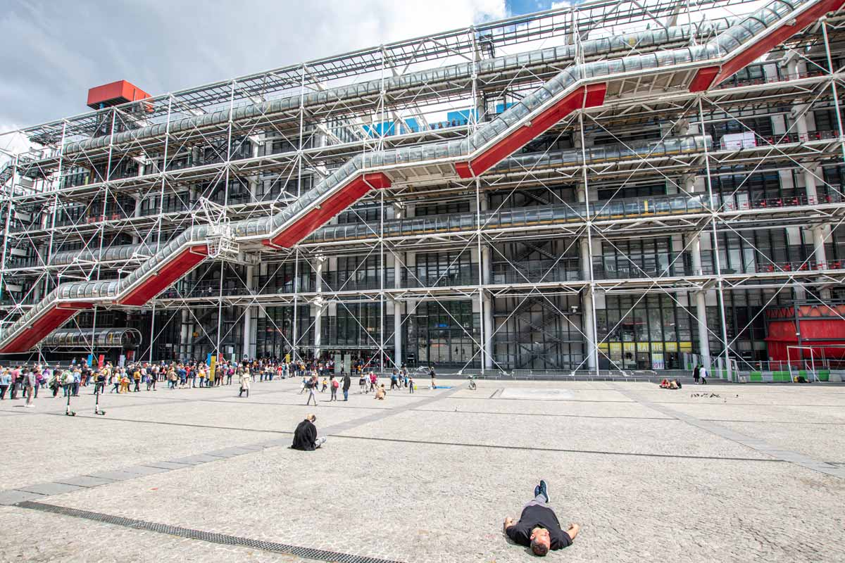 Pompidou Centre in Paris
