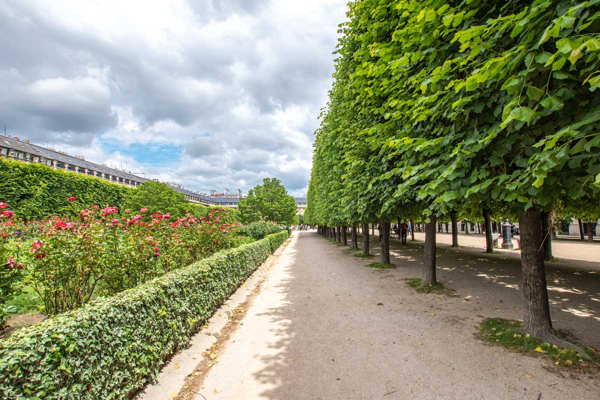 4 day Paris itinerary - Royal Gardens
