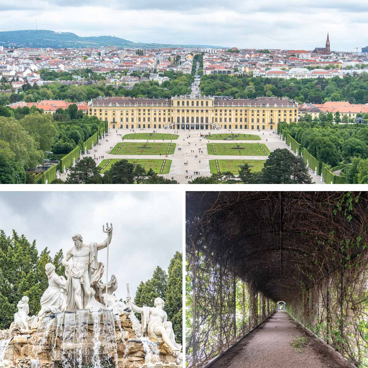 3 days in Vienna - Schönbrunn Palace