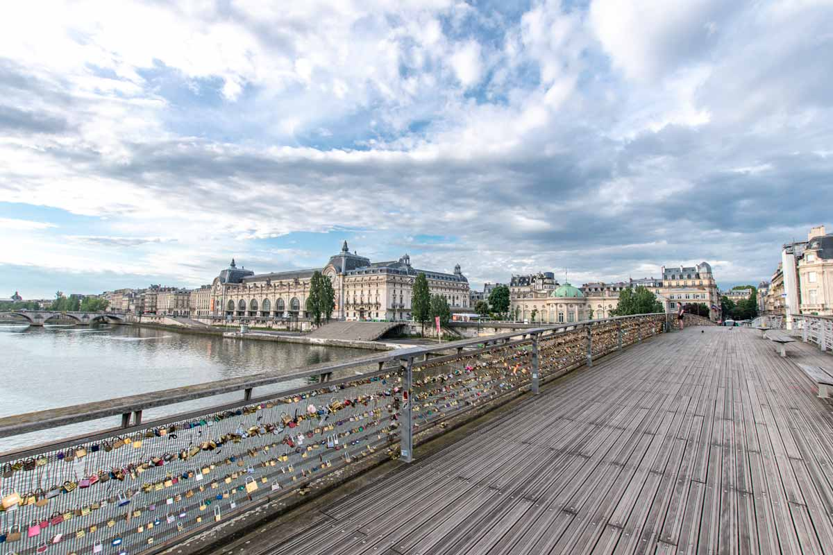 Walking Bridge over Seine