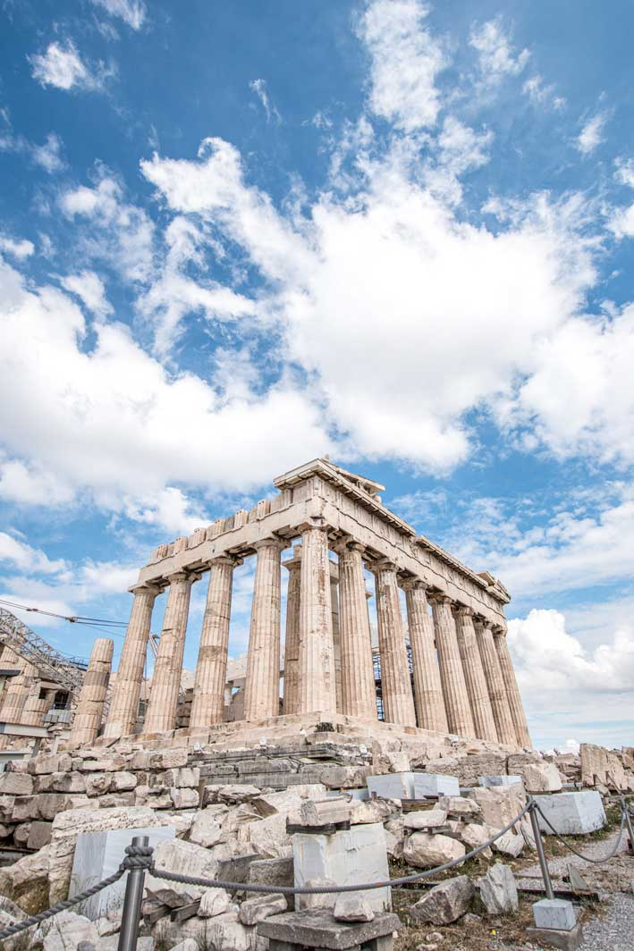Historical places in the world - The Acropolis of Athens