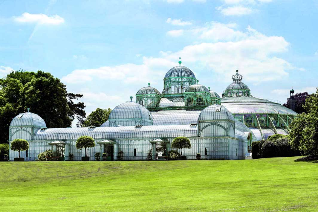 The Royal Greenhouse from the outside