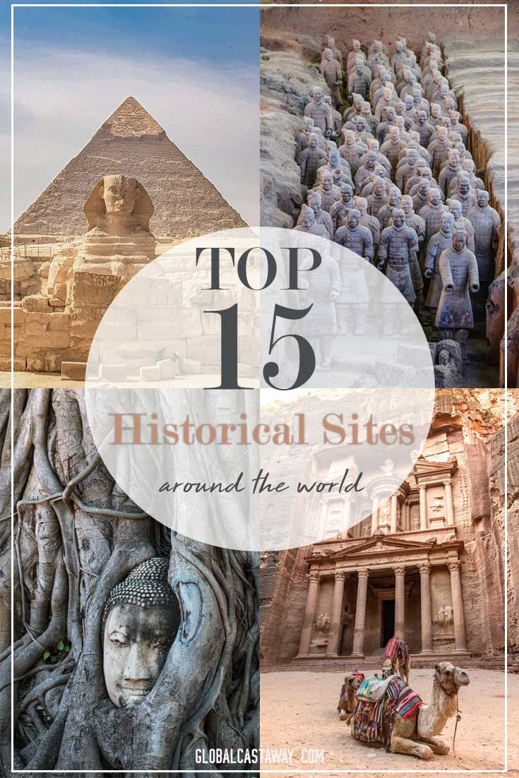 historical places in the world pin