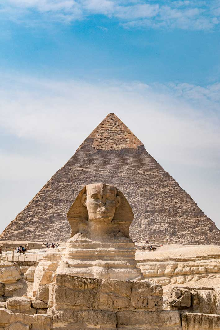 World's ancient sites - the Pyramids of Giza